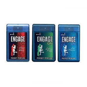 Engage On Pocket Perfume For Men - 18ml (3 Pieces)