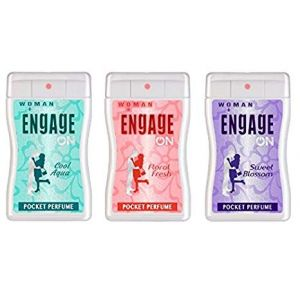Engage On Pocket Perfume For Women - 18ml (3 Pieces)