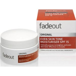 Fadeout ORIGINAL Even Skin Tone Moisturiser SPF 15 - 50ml