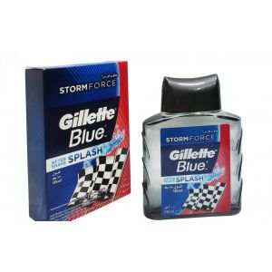 Gillette Blue Splash Aftershave - 100ml