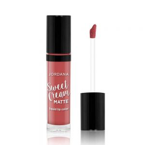 Jordana Sweet Cream Matt Liquid Lip Color - 07