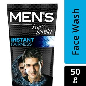 Mens Fair And Lovely Face Wash Rapid Action 50g