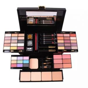 MISS ROSE Makeup Set Box Professional Eyeshadow Lip Gloss Stick Foundation Blush Powder Makeup Kit