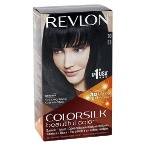 Revlon ColorSilk Beautiful Color Permanent Hair Color - Black (10 Shades)